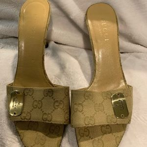 Gucci Shoes - Gucci heeled sandals